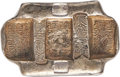 "China:Yunnan, China: Qing Dynasty. Yunnan Five Stamp ""Packsaddle"" 5 TaelSycee Remittance Ingot Certified XF by HuaXia,..."