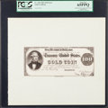 Large Size:Federal Proofs, Fr. 1202 Type $100 1882 Gold Certificate Proof PCGS Gem New 65PPQ.. ...