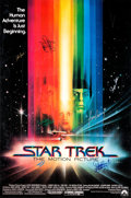 "Memorabilia:Science Fiction, Star Trek: The Motion Picture Signed Movie Poster (Paramount, 1979). One Sheet (27"" X 41"")...."