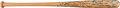 Baseball Collectibles:Bats, 1977 George Brett Game Issued Team-Signed Bat, from the Greg Stiegler Royals Bat Boy Collection. ...