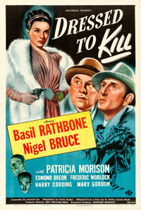 "Dressed to Kill (Universal, 1946). One Sheet (27"" X 41"")"