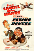 """Movie Posters:Comedy, The Flying Deuces (RKO, 1939). One Sheet (27"""" X 41"""").. ..."""