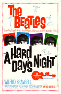 """Movie Posters:Rock and Roll, A Hard Day's Night (United Artists, 1964). One Sheet (27"""" X 41"""").. ..."""