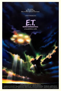 "E.T. The Extra-Terrestrial (Universal, 1982). One Sheet (27"" X 41"") Advance"