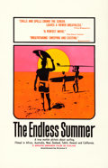 "Movie Posters:Sports, The Endless Summer (Cinema 5, 1966). Silk-Screen One Sheet (27"" X 41.5"") Day-Glo Style, John Van Hamersveld Artwork.. ..."