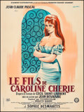 "Movie Posters:Foreign, Caroline and the Rebels (Gaumont, 1955). French Grande (47"" X 63"") Guy Gerard Noel Artwork. Foreign.. ..."
