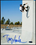Autographs:Photos, Tony Hawk Signed Photograph.. ...