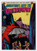 Golden Age (1938-1955):Horror, Adventures Into The Unknown #10 (ACG, 1950) Condition: VF....