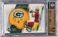 Football Cards:Singles (1970-Now), 2005 Upper Deck Sweet Spot Aaron Rodgers Rookie Signatures Autograph Numbered 73/199 BGS Gem Mint 9.5 - 9 Autograph....
