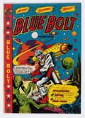 Golden Age (1938-1955):Science Fiction, Blue Bolt #106 (Star Publications, 1950) Condition: VG/FN....