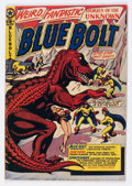 Golden Age (1938-1955):Science Fiction, Blue Bolt #107 (Star Publications, 1950) Condition: VG/FN....