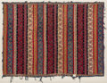 Asian:Chinese, A Fine North Indian/Kashmir Silk Textile, 19th century. 42-1/2inches high x 54-1/2 inches wide (108.0 x 138.4 cm) (framed)...