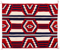 American Indian Art:Weavings, A Navajo Rug - Third Phase Chief's Pattern. c. 1965. ...