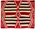 Other, A Navajo Transitional Weaving. 3rd Phase Chief's Pattern. c. 1910...
