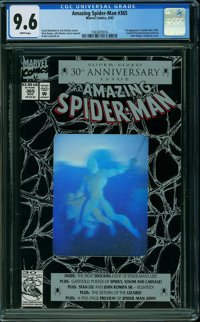 The Amazing Spider-Man #365 (Marvel, 1992) CGC NM+ 9.6 WHITE pages