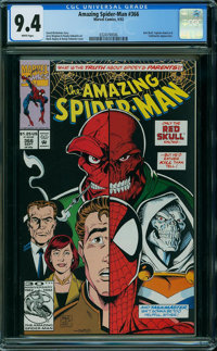 The Amazing Spider-Man #366 (Marvel, 1992) CGC NM 9.4 WHITE pages