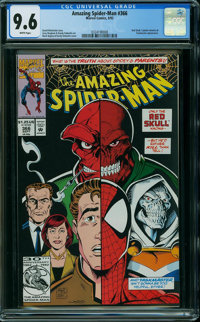 The Amazing Spider-Man #366 (Marvel, 1992) CGC NM+ 9.6 WHITE pages