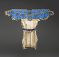 American Indian Art:Beadwork and Quillwork, A Sioux Girl's Beaded Hide Dress with Panel Belt. c. 1880...