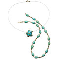 Estate Jewelry:Lots, Turquoise, Gold Jewelry . ... (Total: 2 Items)