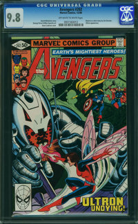 The Avengers #202 (Marvel, 1980) CGC NM/MT 9.8 OFF-WHITE TO WHITE pages