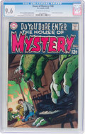 Silver Age (1956-1969):Horror, House of Mystery #180 (DC, 1969) CGC NM+ 9.6 Off-white to whitepages....