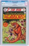 Bronze Age (1970-1979):Superhero, 1st Issue Special #8 Warlord (DC, 1975) CGC NM+ 9.6 Off-white to white pages....