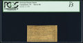 Colonial Notes:New York, Canajoharie - Reformed Dutch Church Feb. 4, 1793 2d PCGS Fine 15.. ...