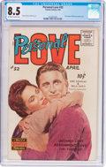 Golden Age (1938-1955):Romance, Personal Love #32 (Famous Funnies Publications, 1955) CGC VF+ 8.5Off-white to white pages....
