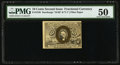 Fractional Currency:Second Issue, Fr. 1249 10¢ Second Issue PMG About Uncirculated 50.. ...