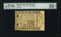 Colonial Notes:Rhode Island, Rhode Island May 1786 40s PMG About Uncirculated 55 EPQ.. ...