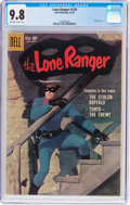 Silver Age (1956-1969):Western, Lone Ranger #129 (Dell, 1959) CGC NM/MT 9.8 Off-white to whitepages....