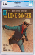 Silver Age (1956-1969):Western, Lone Ranger #142 (Dell, 1961) CGC NM+ 9.6 Off-white pages....