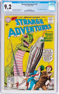 Silver Age (1956-1969):Science Fiction, Strange Adventures #123 (DC, 1960) CGC NM- 9.2 White pages....
