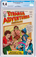 Silver Age (1956-1969):Science Fiction, Strange Adventures #126 (DC, 1961) CGC NM 9.4 White pages....