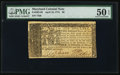 Colonial Notes:Maryland, Maryland April 10, 1774 $6 PMG About Uncirculated 50 EPQ.. ...