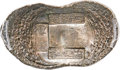 China, China: Qing Dynasty. Shandong Province Small Local Tax Ingot of10 Taels Certified AU by HuaXia,...