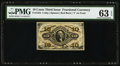 Fractional Currency:Third Issue, Fr. 1252 10¢ Third Issue PMG Choice Uncirculated 63 EPQ.. ...