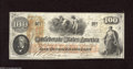 "Confederate Notes:1862 Issues, T41 $100 1862. This unscathed Scroll One $100 is printed on ""CSA""block watermarked paper. Choice Crisp Uncirculated...."