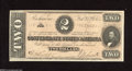 Confederate Notes:1864 Issues, T70 $2 1864. This handsome $2 is of the orange tint variety. Choice Crisp Uncirculated....