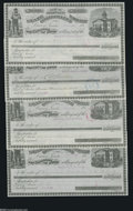 Obsoletes By State:Nevada, Carson, NV- State Controller's Warrants 1880's Four Examples This lot consists of a warrant from the general, state school,... (4 items)