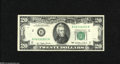Error Notes:Ink Smears, Fr. 2072-B $20 1977 Federal Reserve Note. Very Fine. This wellmargined note off New York exhibits some ink smearing on the...