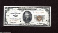 Fr. 1870-G $20 1929 Federal Reserve Bank Note. Gem New. A flashy gem with large margins and deep embossing