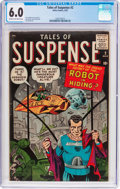 Silver Age (1956-1969):Science Fiction, Tales of Suspense #2 (Marvel, 1959) CGC FN 6.0 Cream to off-whitepages....