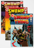 Bronze Age (1970-1979):Horror, Swamp Thing Group of 13 (DC, 1973-75) Condition: Average VF....(Total: 13 Comic Books)