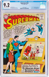 Superman #162 (DC, 1963) CGC NM- 9.2 Off-white to white pages