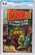 Bronze Age (1970-1979):Horror, Chamber of Darkness #4 (Marvel, 1970) CGC NM 9.4 White pages....