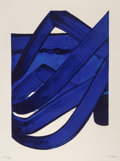 Fine Art - Work on Paper:Print, Pierre Soulages (b. 1919). Composition, from OfficialArts Portfolio of the XXIVth Olympiad, Seoul, Korea, 1988.Lit...
