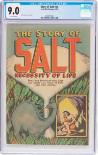 The Story of Salt #nn (Leslie Salt Company, 1959) CGC VF/NM 9.0 Off-white pages