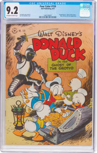 Four Color #159 Donald Duck (Dell, 1947) CGC NM- 9.2 Off-white to white pages