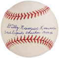 Autographs:Baseballs, Dolly Konwinski Single Signed Baseball.. ...